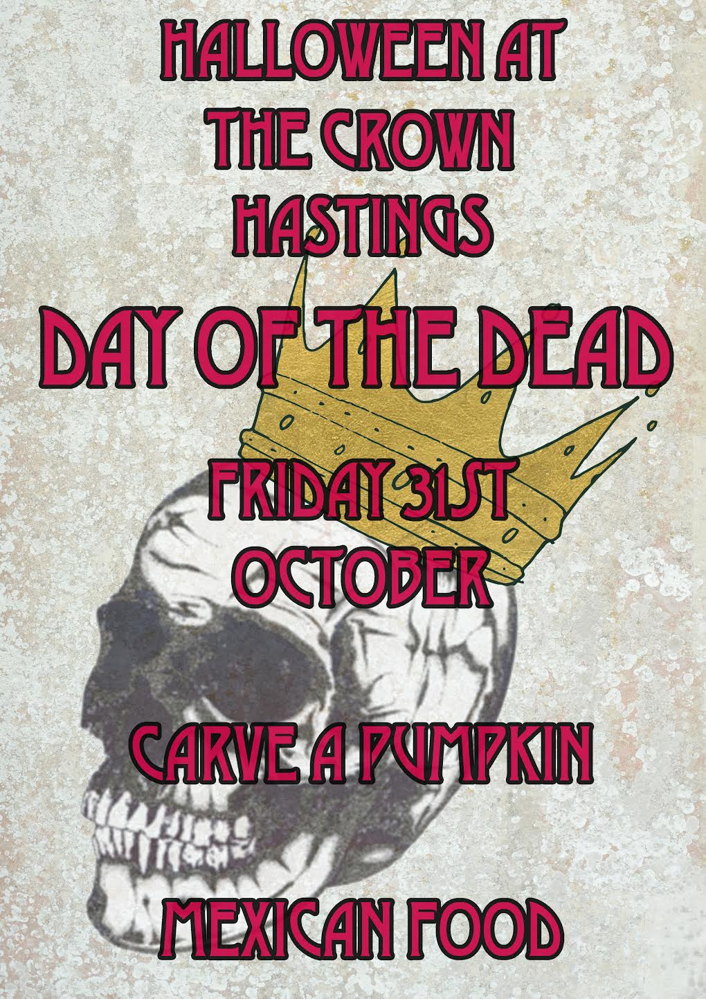 Poster for Day of the Dead Mexican Halloween