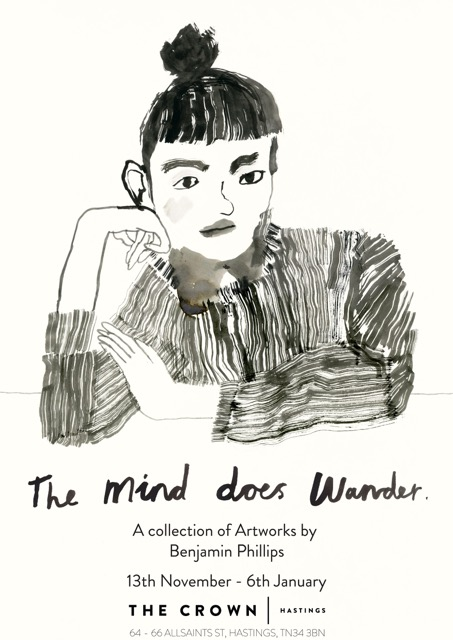 Poster for Benjamin Phillips: The Mind Does Wander