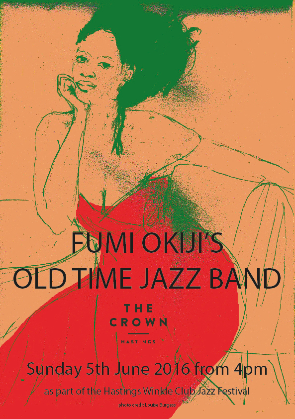 Poster for Fumi Okiji's Old Time Jazz Band