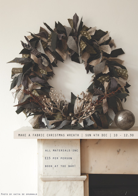 Poster for Make a Fabric Christmas Wreath