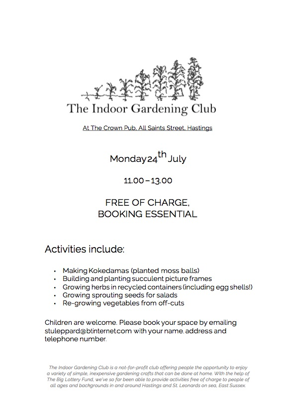Poster for The Indoor Gardening Club