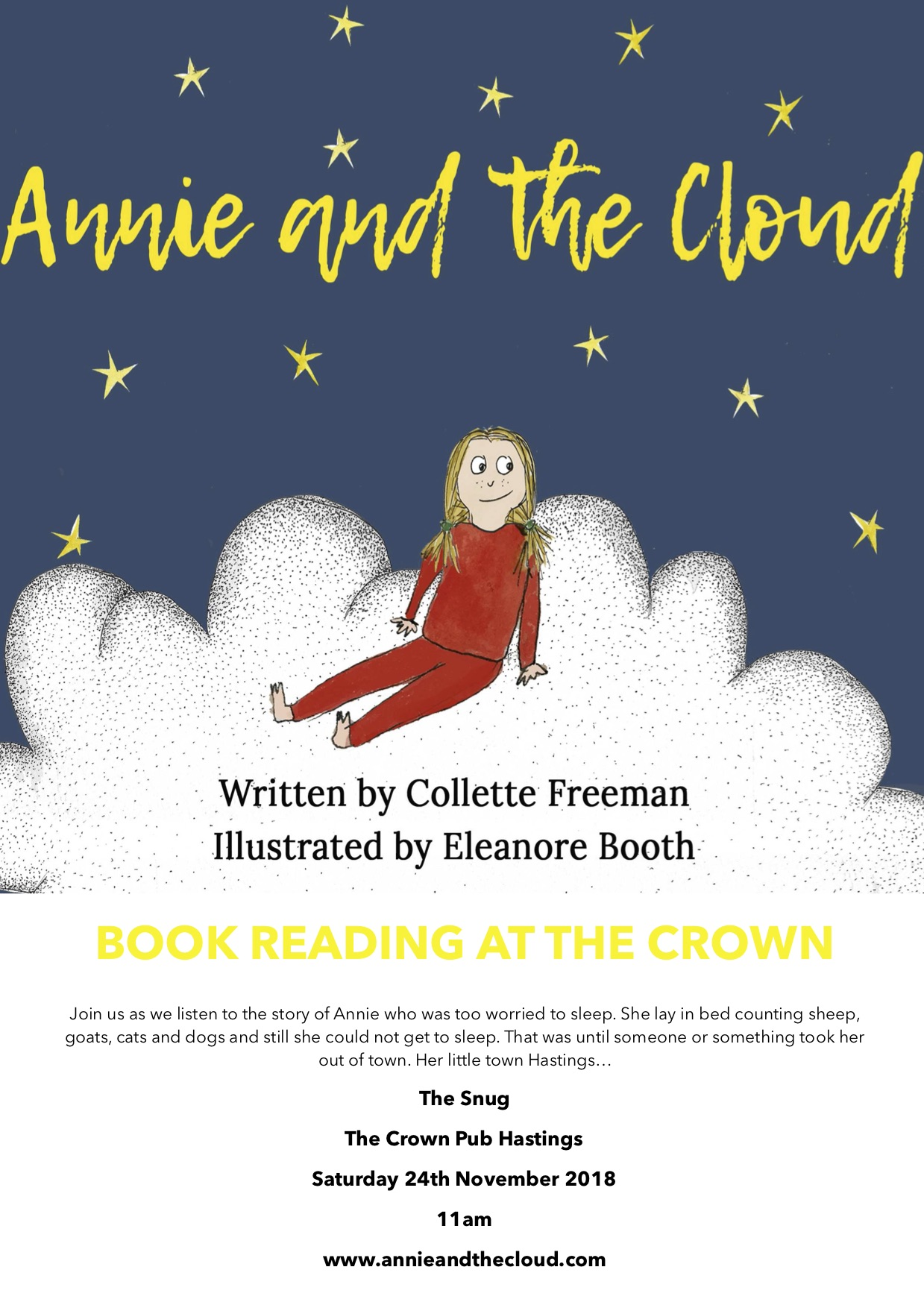Poster for Collette Freeman: Annie and the Cloud
