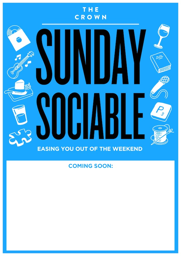 Poster for Sunday Sociable: Louis Wustemann