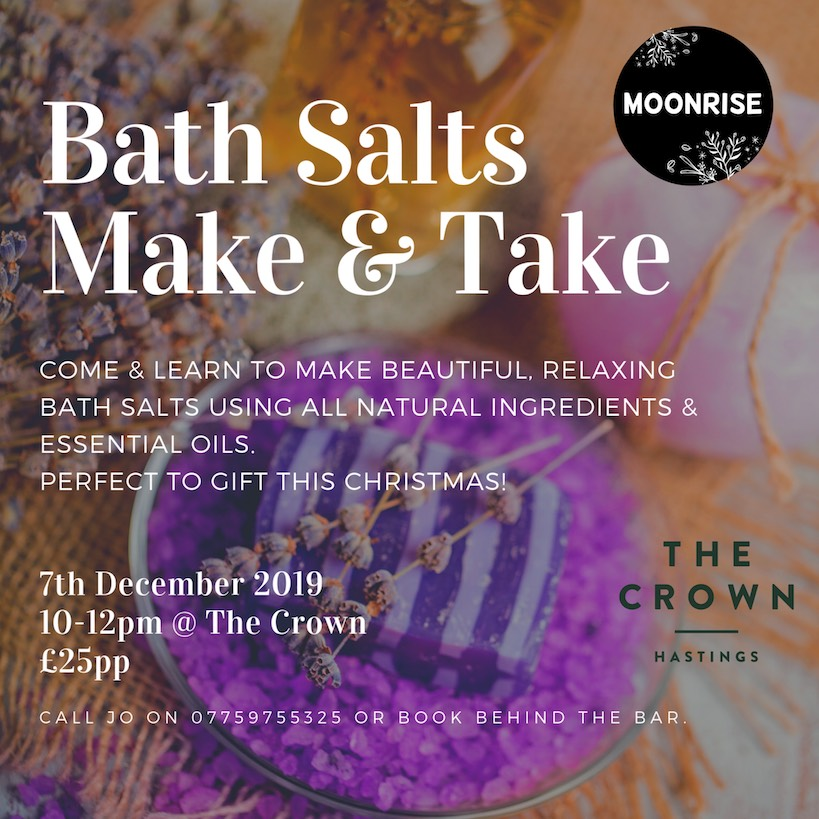 Poster for Bath Salts: Make & Take