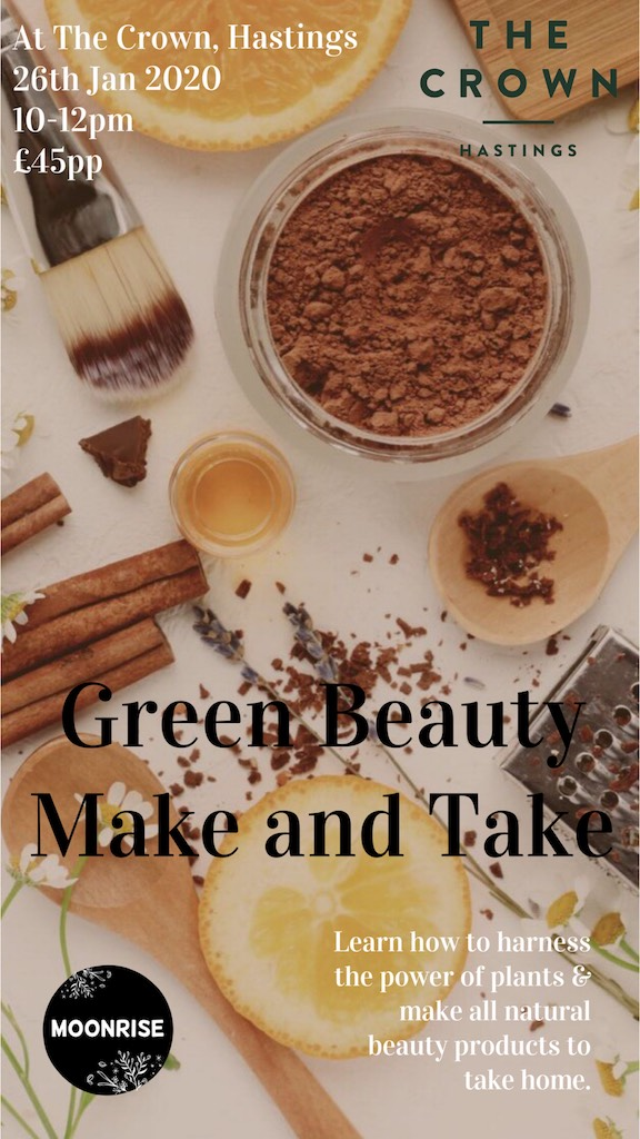 Poster for Green Beauty: Make and Take