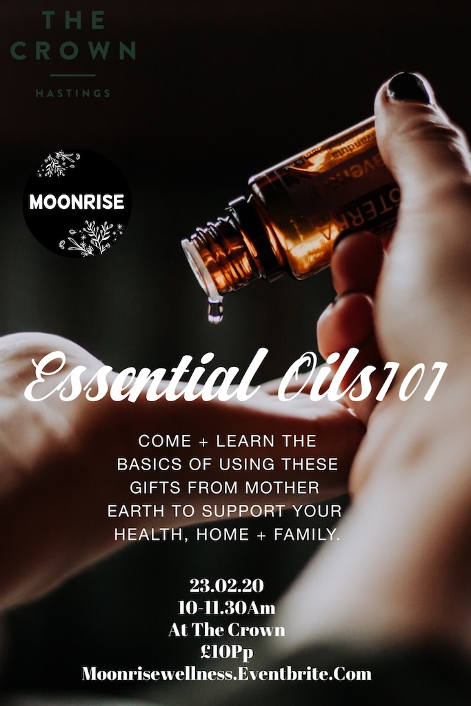 Poster for Essential Oils 101