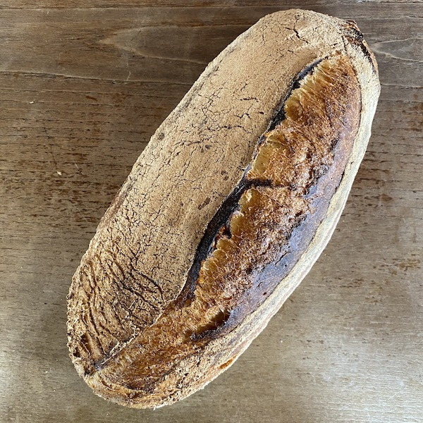 A loaf of Emmanuel's bread